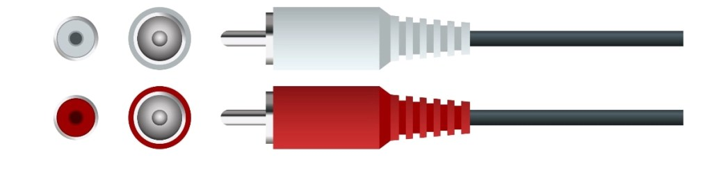 Cables de audio RCA