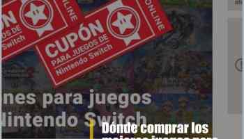 Dónde comprar los mejores juegos para Nintendo Switch con descuento