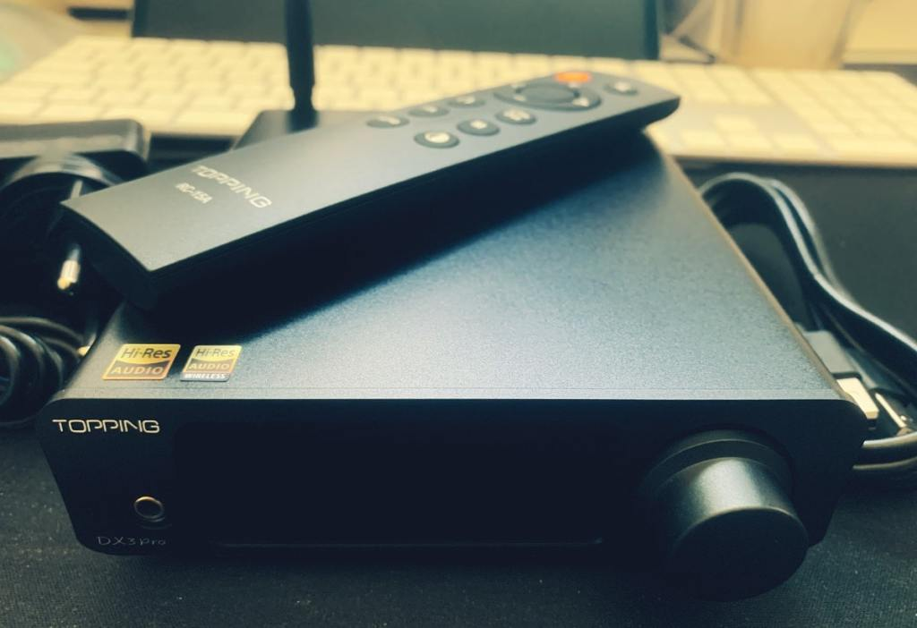 Topping DX3 Pro DAC y Amp
