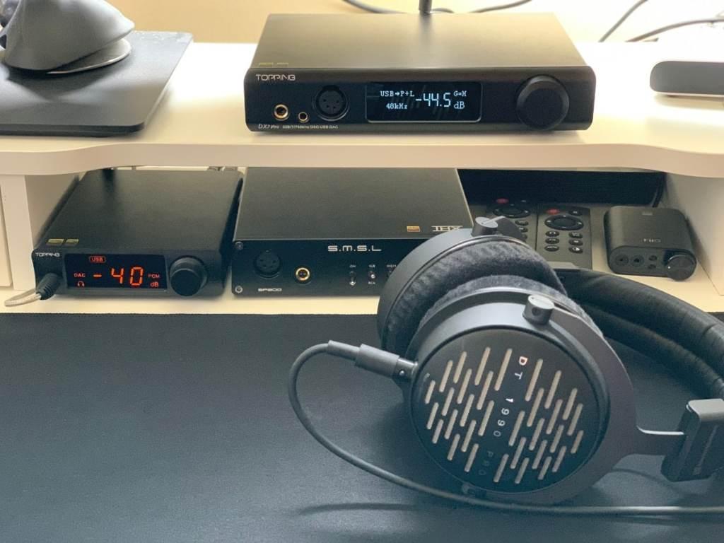 Topping DX7 PRO DAC/Amplificador y SMSL SP200