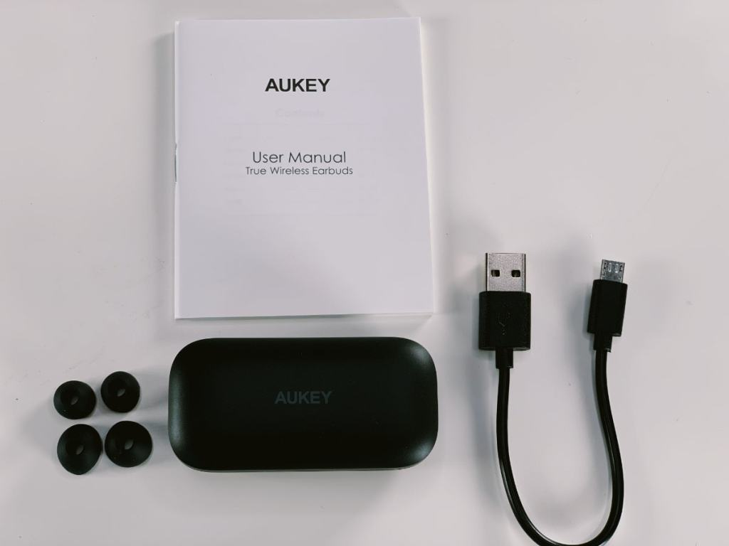 Aukey True Wireless Earbuds características