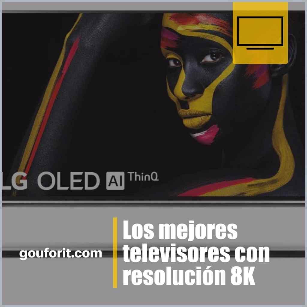 Los mejores televisores con resolución 8K