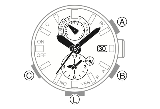 asio G-Shock analogico (modulo 5588)