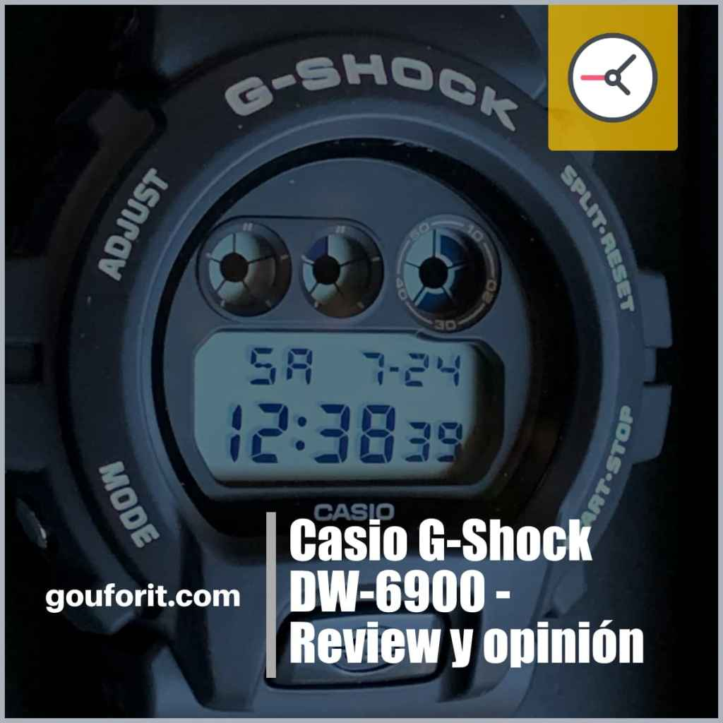 Casio G-Shock DW-6900 - Review y opinión