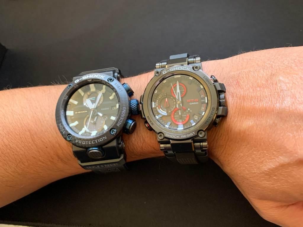 Casio G-Shock MTG vs Gravitymaster