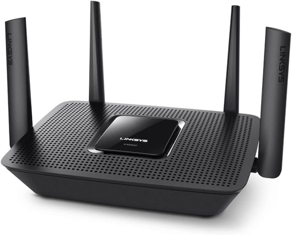 Linksys EA8300 - Router Wi-Fi AC2200 Tri-Banda MAX-Stream