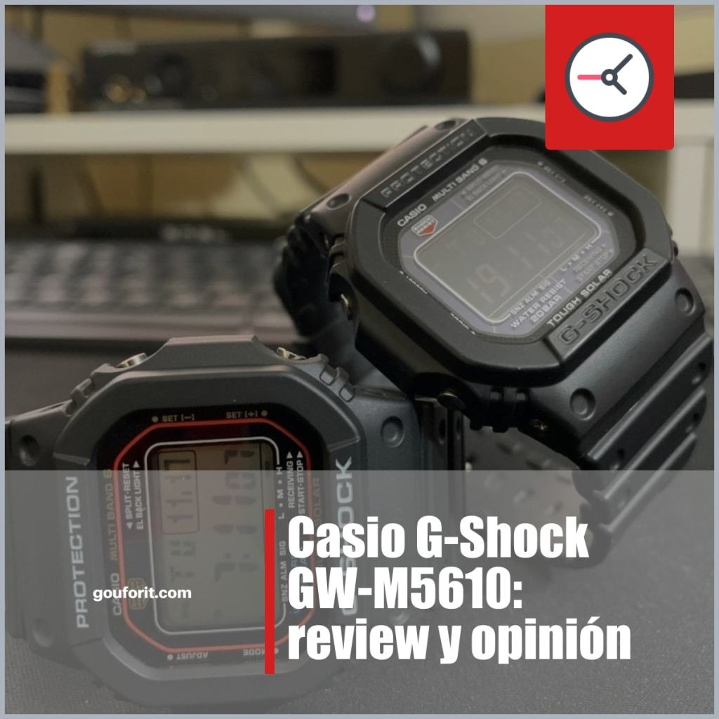 Casio G-Shock GW-M5610: review y opinión