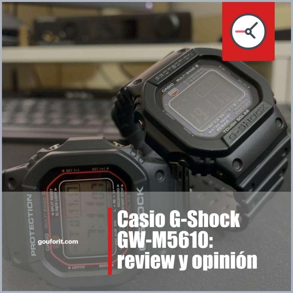 Casio G-Shock GW-M5610: review y opinión