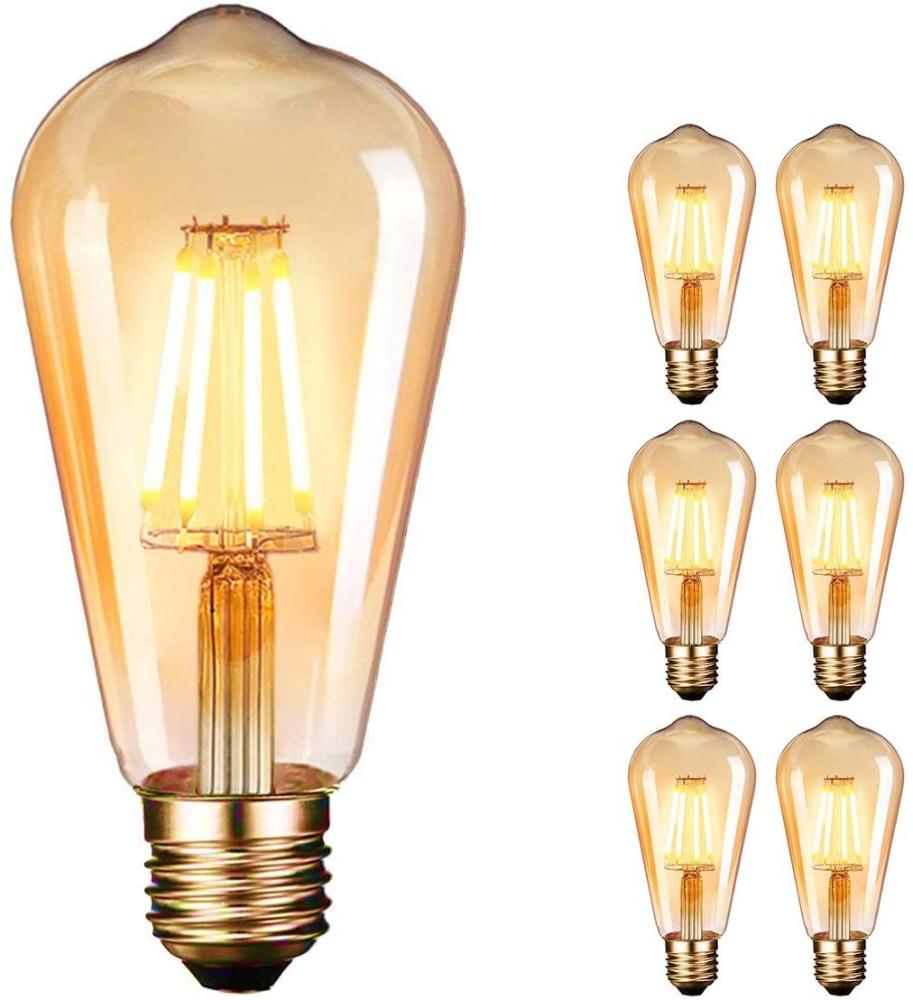 Dobee Bombilla LED E27 (6 unidades)