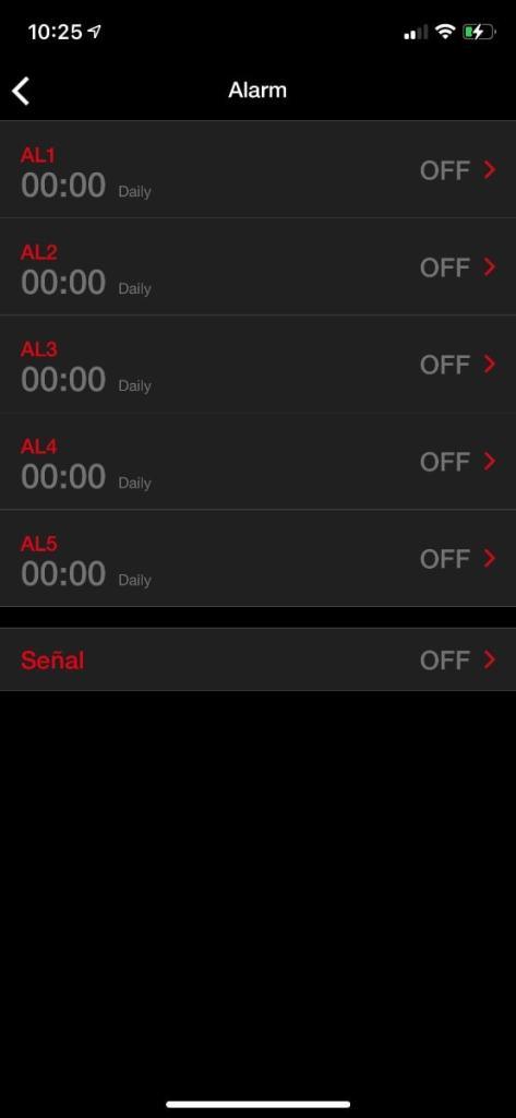 Casio G-Shock GST-B300: app smartphone