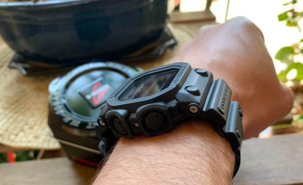 Casio G-SHOCK GX-56: grosor