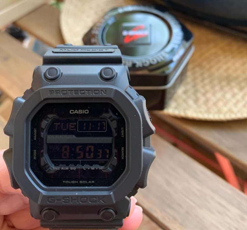 Casio G-SHOCK GX-56: pantalla