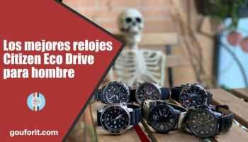 los mejores relojes Citizen Eco Drive para hombre