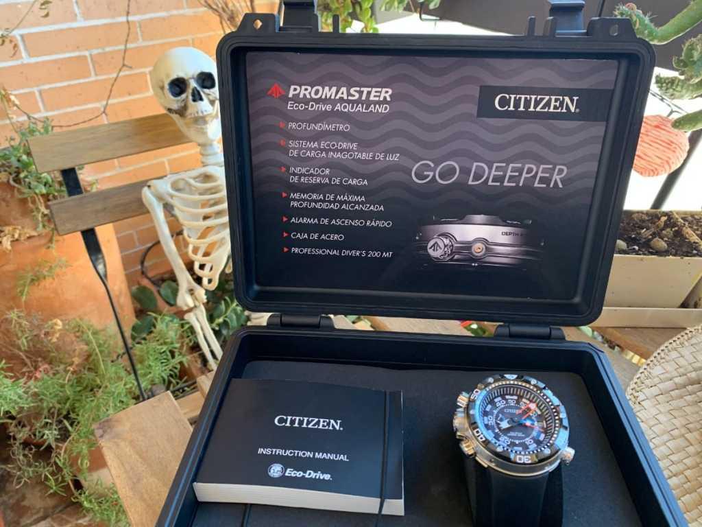 Reloj Citizen Aqualand Eco Drive BN2024-05E