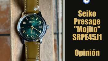 "Seiko Presage ""Mojito"" SRPE45J1 Cocktail Time - Opinión y review"