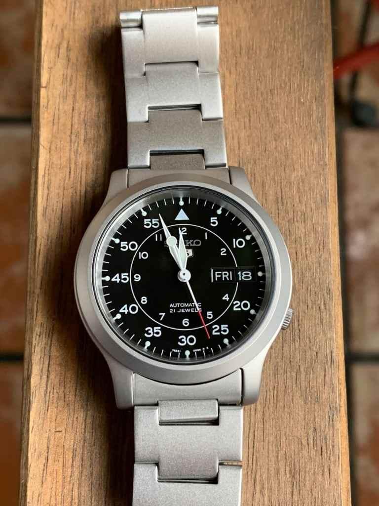 Seiko SNK809 - Reloj automático caja y esfera