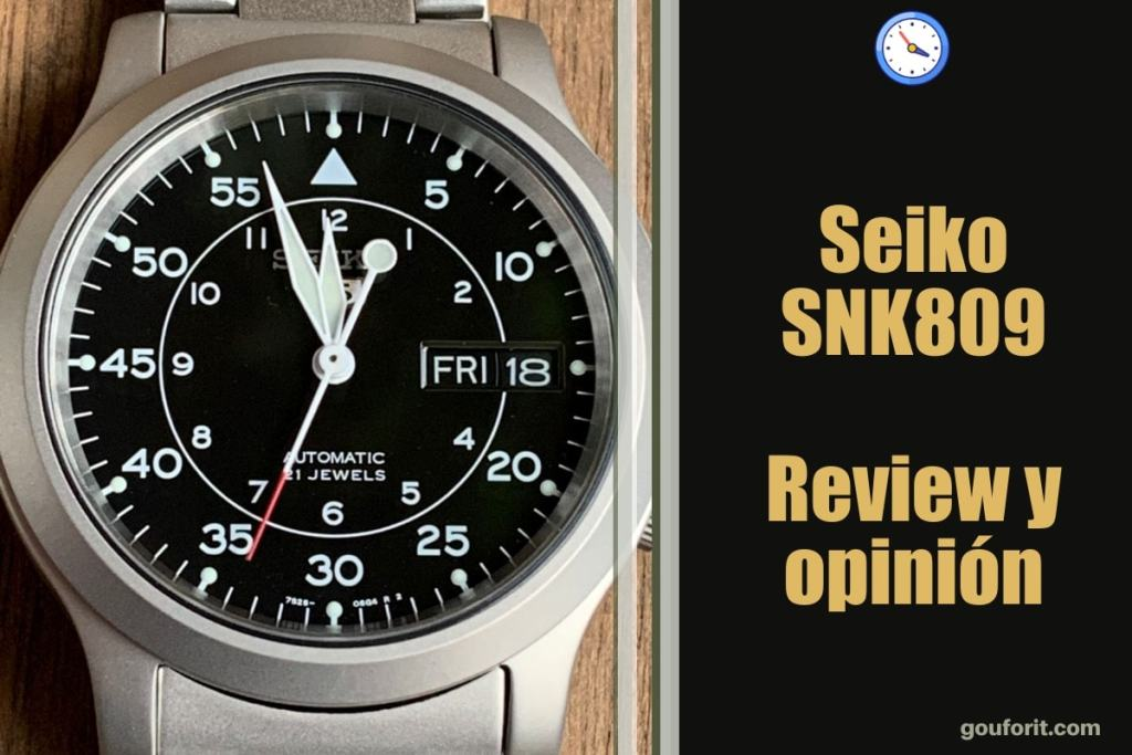 Seiko SNK809 - Reloj automático - Review y opinión