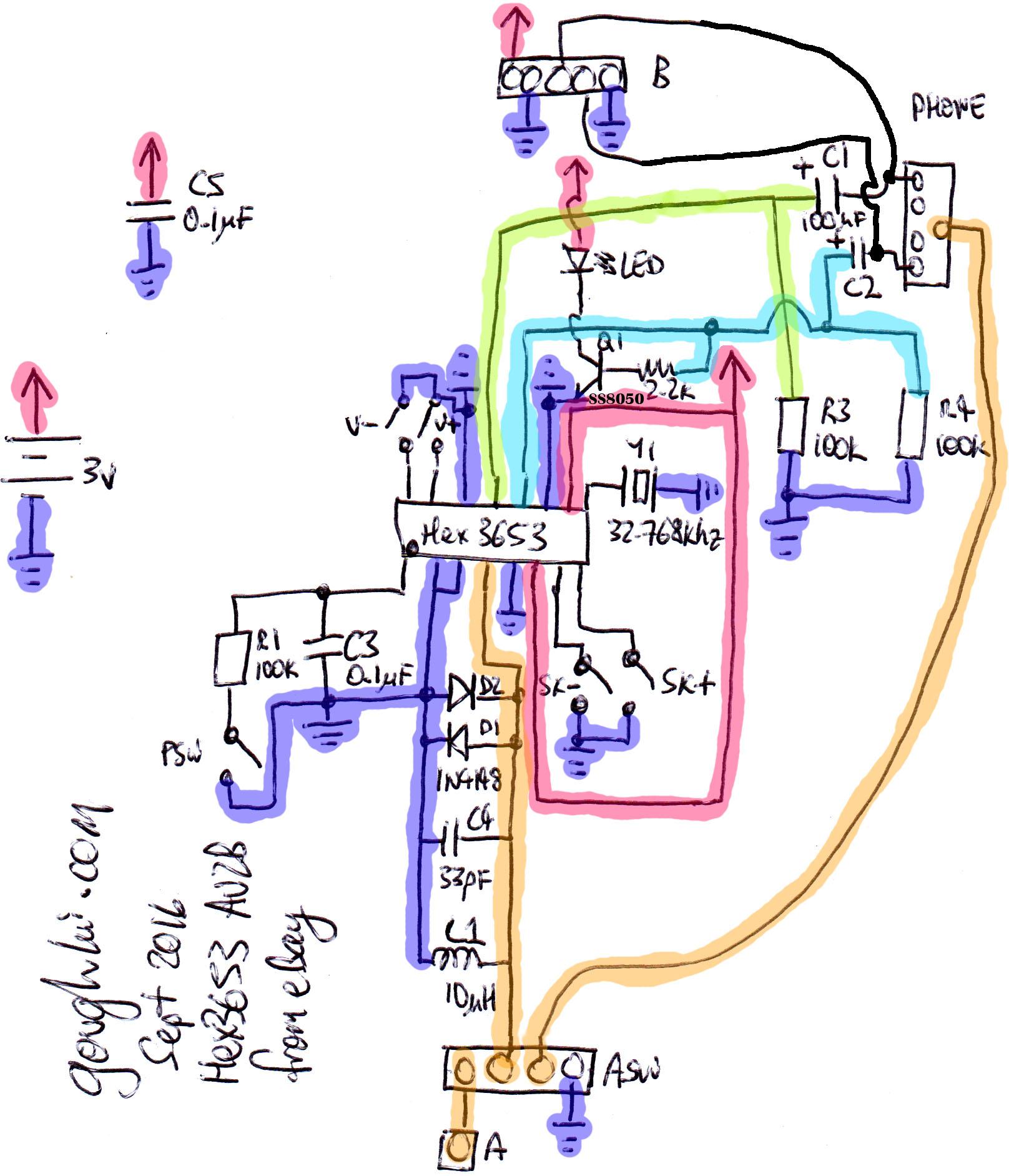 hight resolution of hex3653 schematic