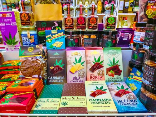 alimentos con mariguana