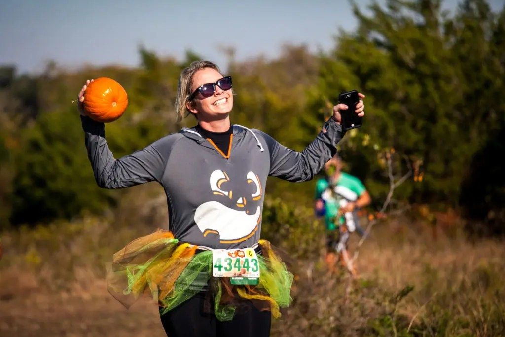 Pumpkin run in Texas
