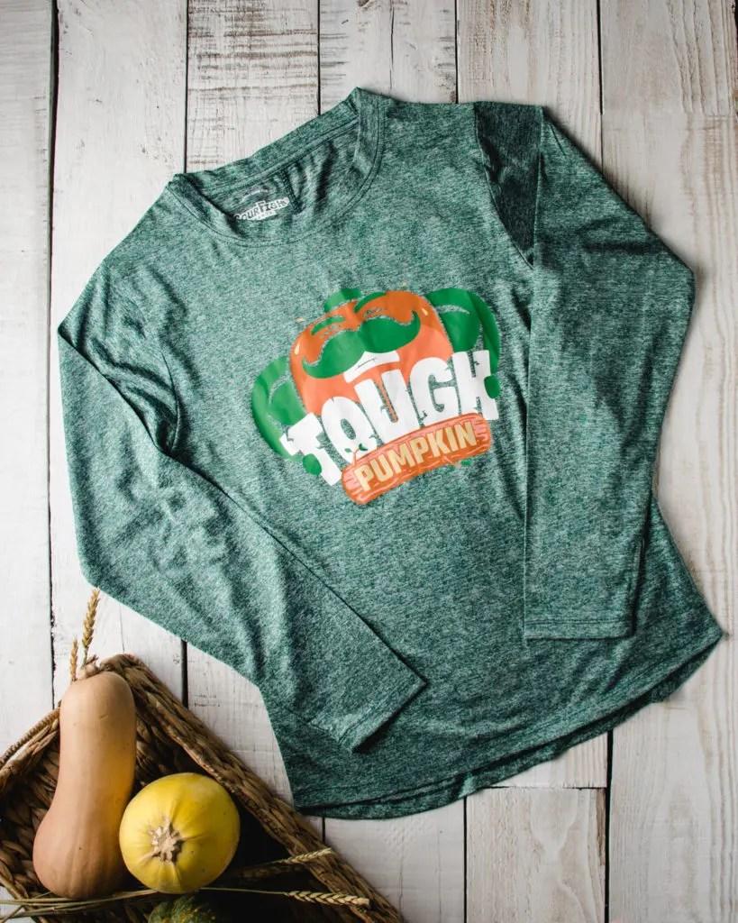 Tough Pumpkin Tech Shirt Front
