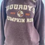 Crewneck Sweater in maroon