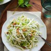 Celery Root and Apple Salad