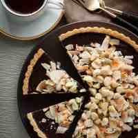 Chocolate, Coconut, Macadamia Nut Tart (Gluten-Free, Paleo, Vegan)