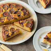 Fig Almond Olive Oil Cake (Gluten-Free, Paleo)