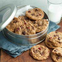 Flourless Trail Mix Cookies (Gluten-Free, Paleo)