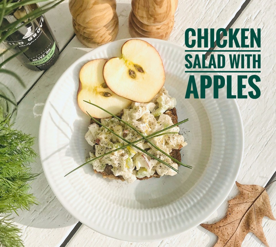 Rye bread with beer - pairing suggestions: Chicken salad with apples