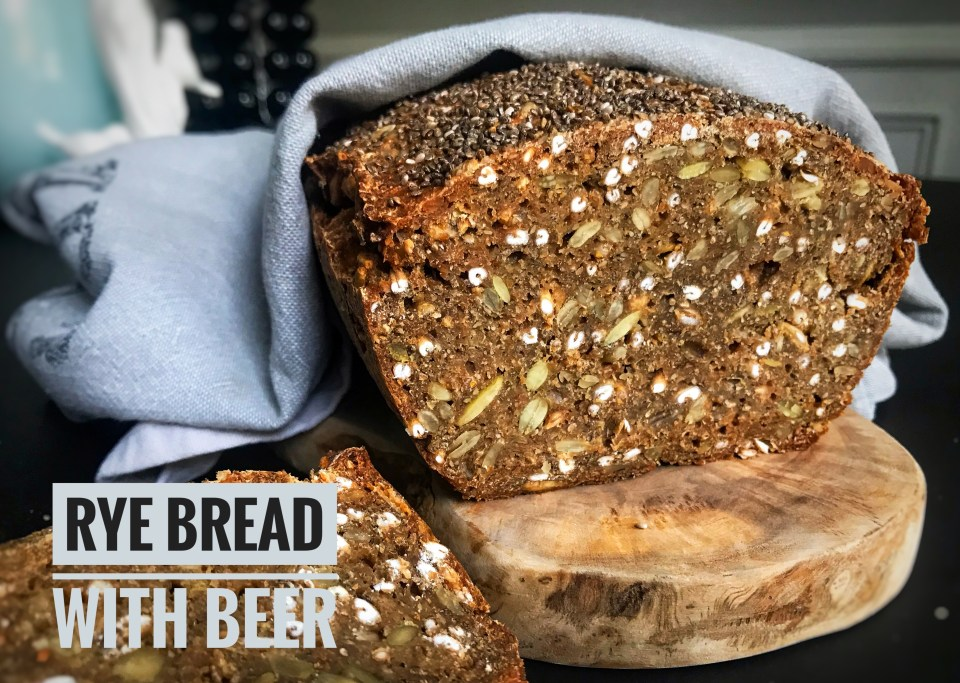 Rye bread with beer - classic Danish recipe