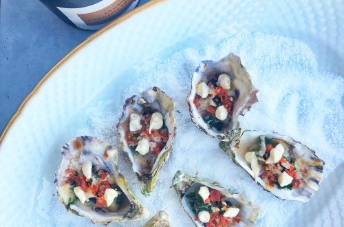 Oysters Rockefeller - for a Roaring '20s - Gatsby themes New Year's