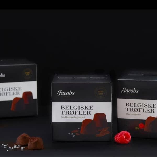Jacobs trøfler sjokolade