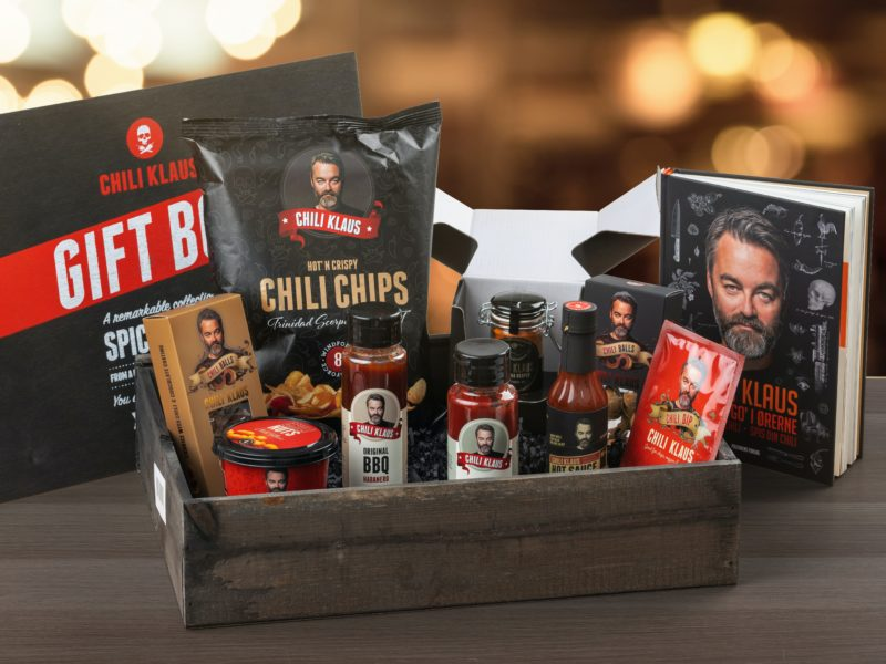 Perfekt gavepakke til de som liker chili