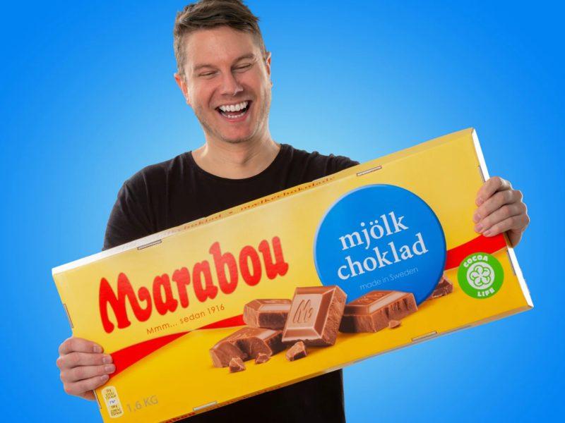 Til sjokoladegourmanden: Megapakke med sjokolade