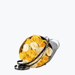 Send blomster på døra - 15 Påskeroser