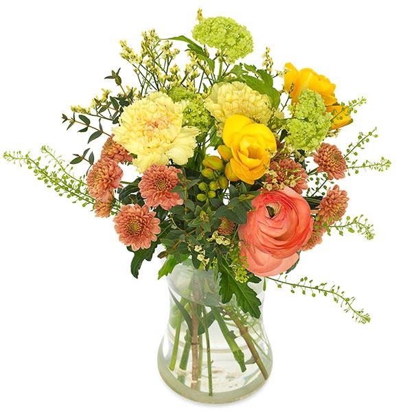Send blomster på døra - Forårsgave