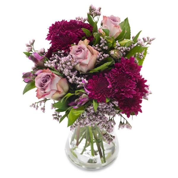 Send blomster på døra - Glad i deg