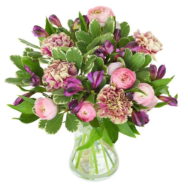Send blomster på døra - Søt vårvind