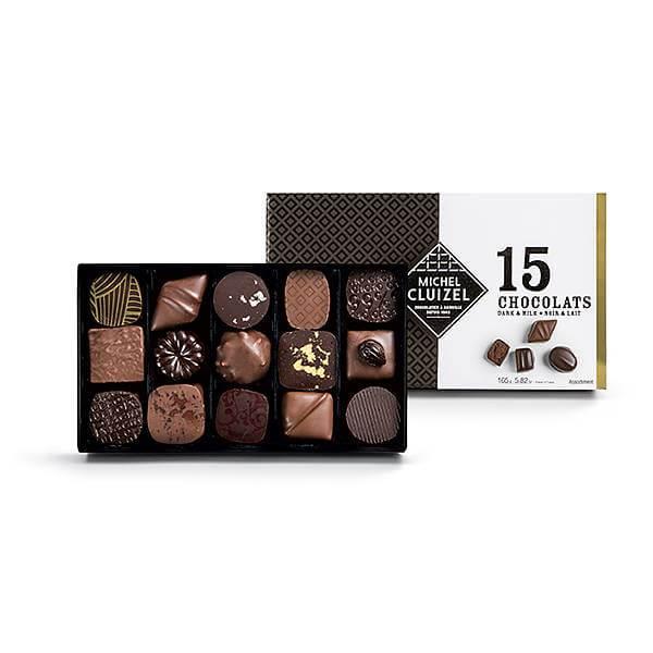 Skicka exklusiv choklad från michel cluizel