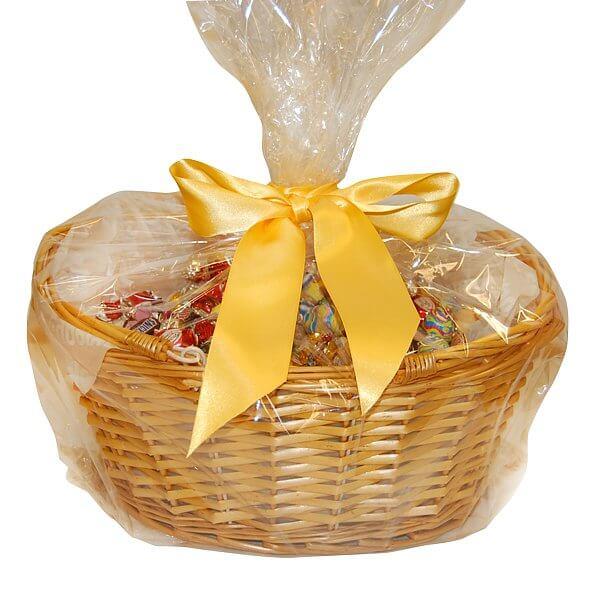 Presentkorg med choklad