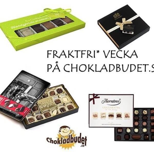 Skicka present: Chokladbudet exempel