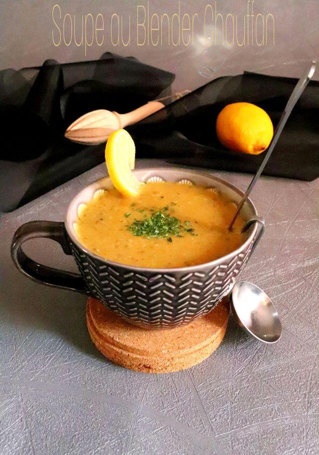 Recette : Soupe épicée avec le blender chauffant SoupMaker