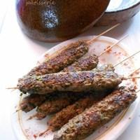 Recettes barbecue {chicken kebab , brochettes de kefta, brochettes de poisson à la marocaine}BBQ +idées salades