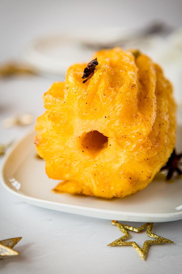 Ananas Roti Au Four : ananas, Ananas, Rôti, Four,, Sirop, épices