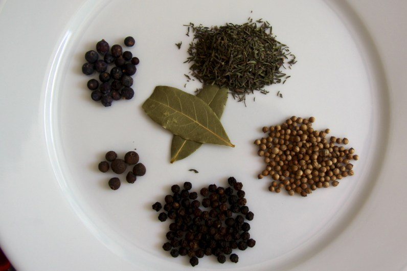 Spices for confit