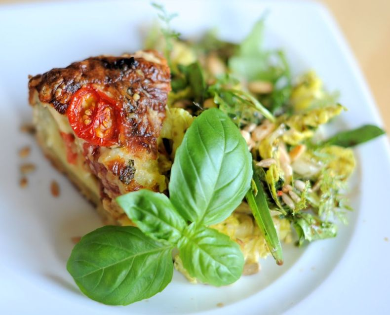 Delicious Gluten-free Quiche by Gourmari