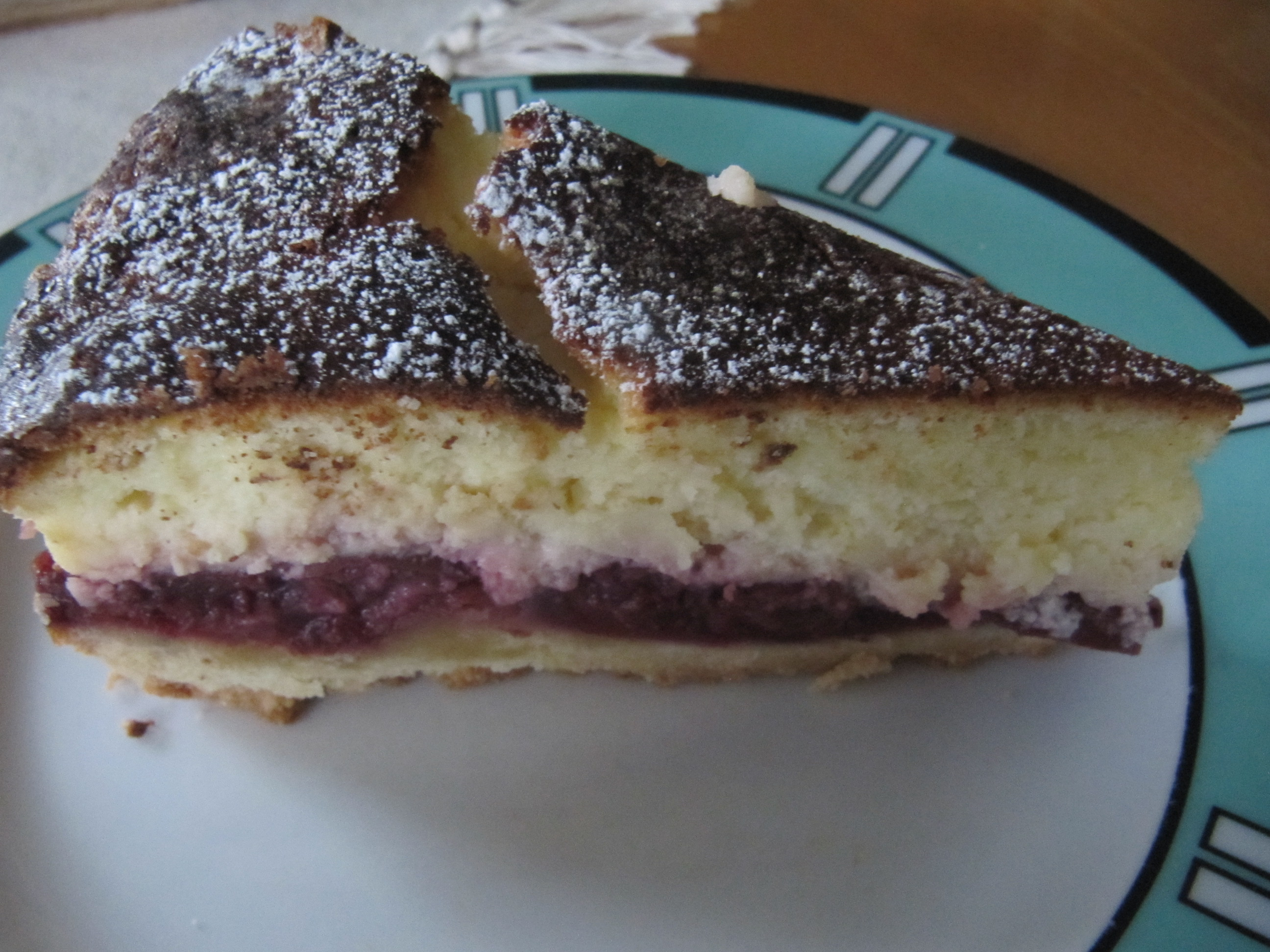 Kuchen Quark Creme Fraiche Fantaschnitten Mit Mandarinen Cuplovecake