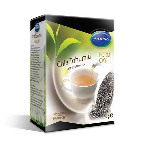 Mecitefendi Form Tea With Chia Seed 40 Piece